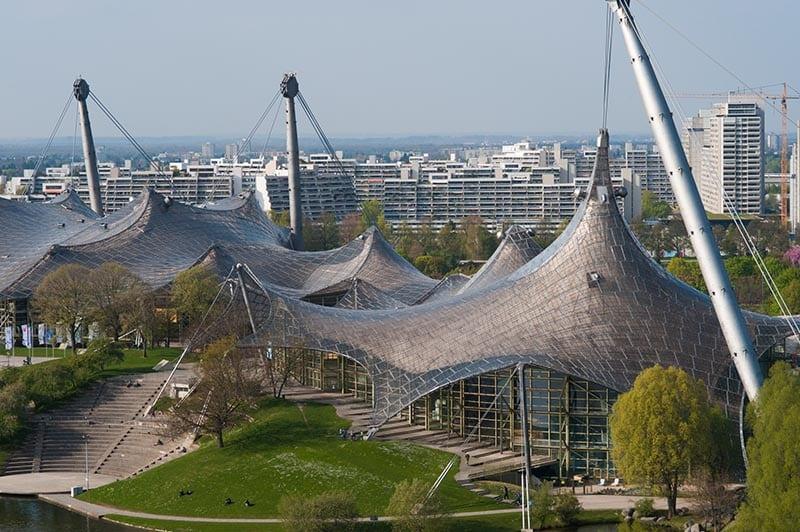 Foto vom Olympiastadion in München
